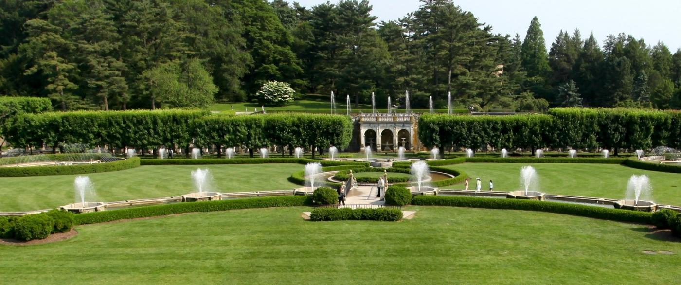 费城长木公园,改建前的中心喷泉花园_图1-12