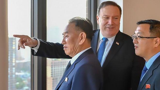蓬佩奥和金英哲今日举行高难度谈判_图1-4