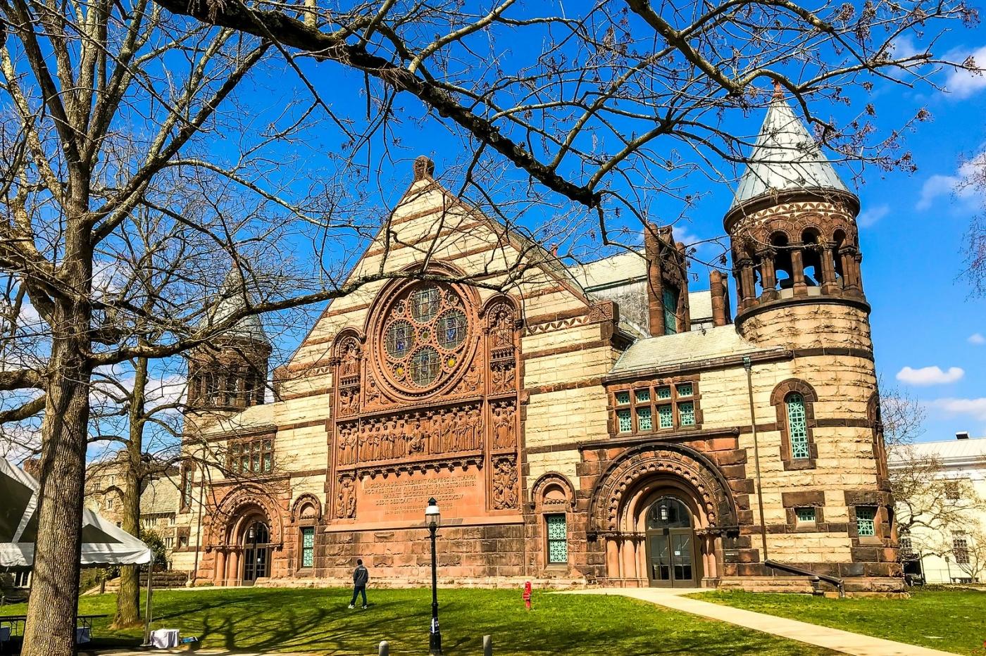 普林斯顿大学,它就是标志性建筑_图1-1