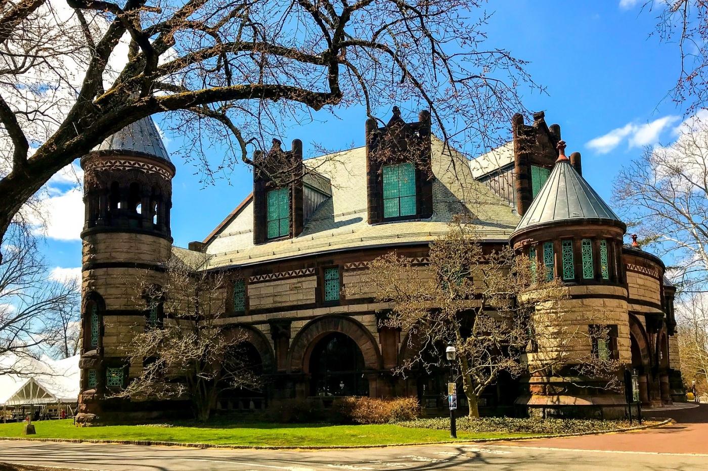 普林斯顿大学,它就是标志性建筑_图1-4