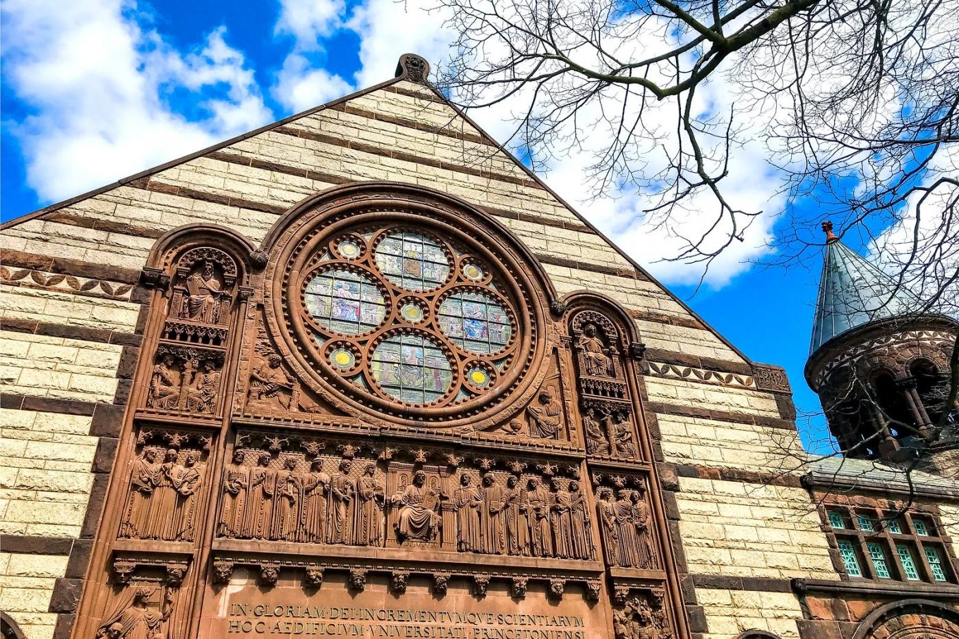 普林斯顿大学,它就是标志性建筑_图1-5