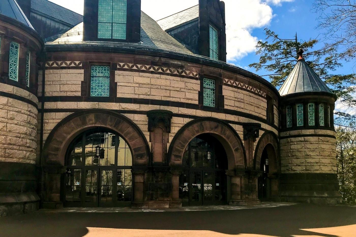 普林斯顿大学,它就是标志性建筑_图1-6