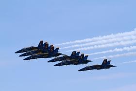 【田螺摄影】蓝天使Blue Angels空中风采201