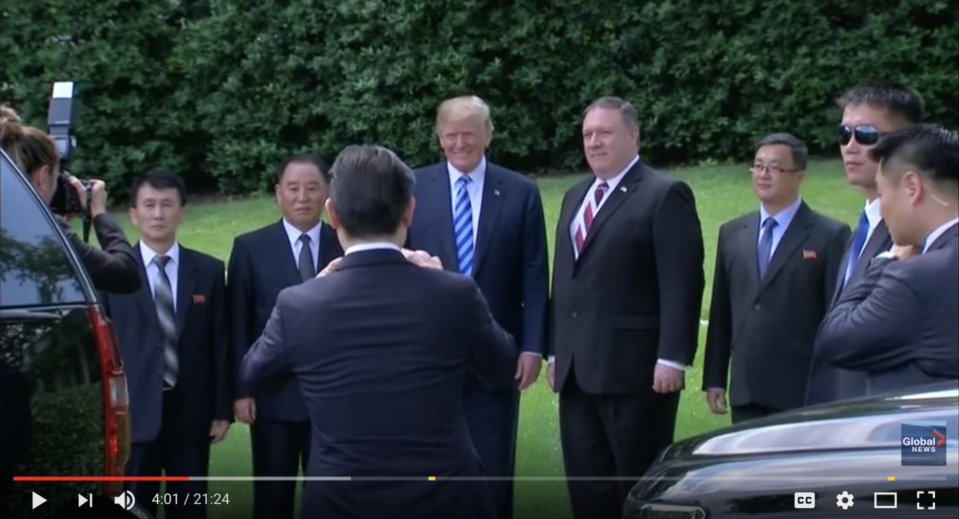川普宣布将如期在新加坡会见金正恩_图1-1