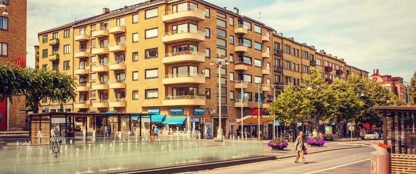 瑞典哥德堡,浏览城市建筑_图1-7