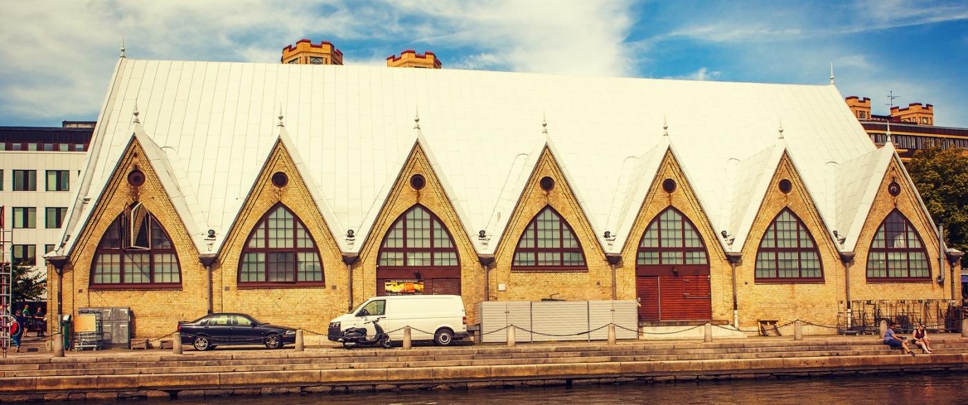 瑞典哥德堡,浏览城市建筑_图1-4