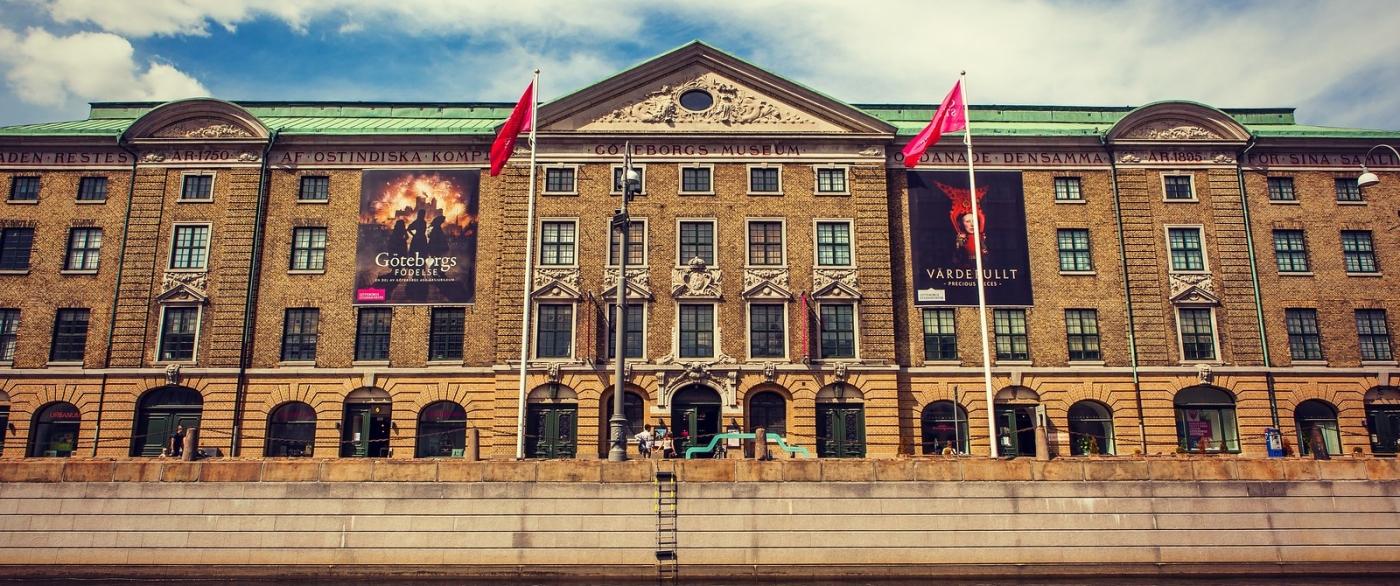 瑞典哥德堡,浏览城市建筑_图1-5