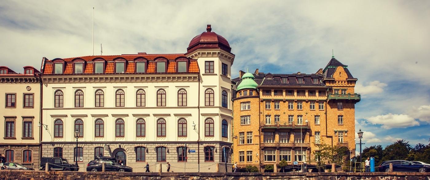 瑞典哥德堡,浏览城市建筑_图1-6