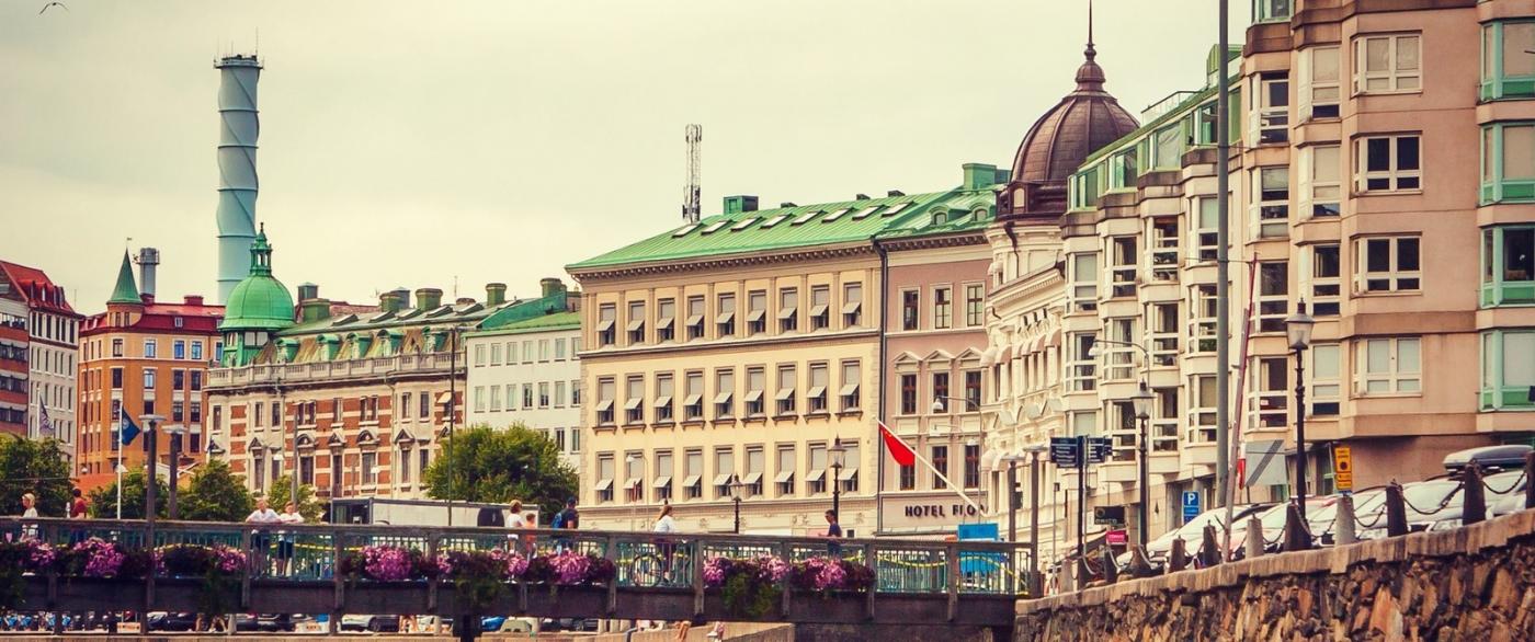 瑞典哥德堡,浏览城市建筑_图1-3