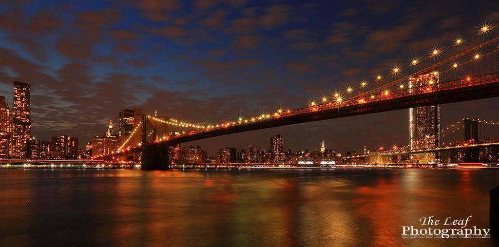 曼哈顿下城夜景_图1-4