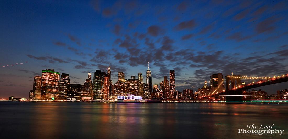 曼哈顿下城夜景_图1-3