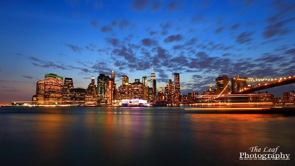曼哈顿下城夜景_图1-1