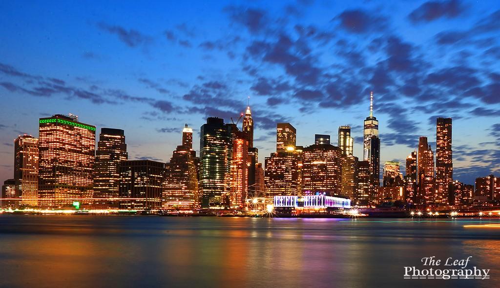 曼哈顿下城夜景_图1-2