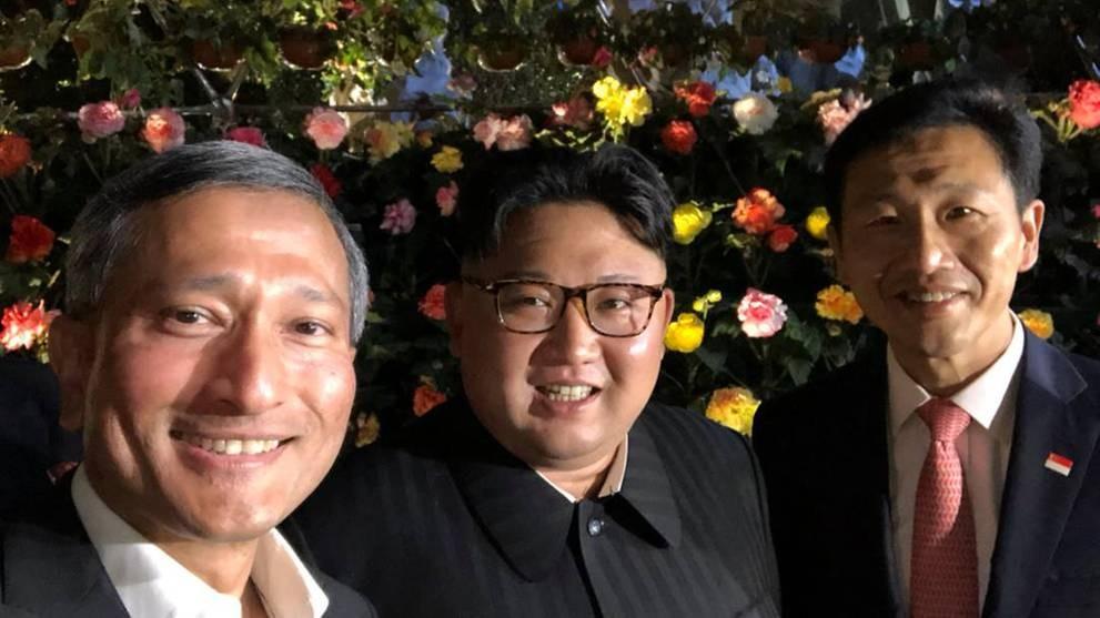 川普和金正恩各自度过愉快的星期一_图1-2