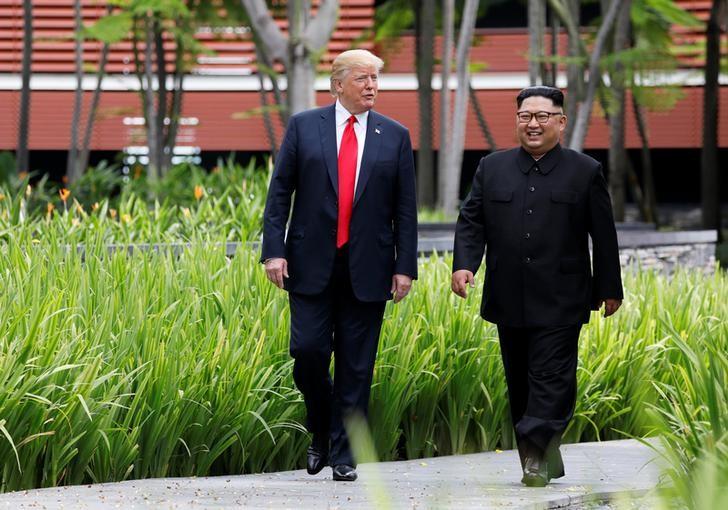特朗普和金正恩签订历史性和平协议_图1-2