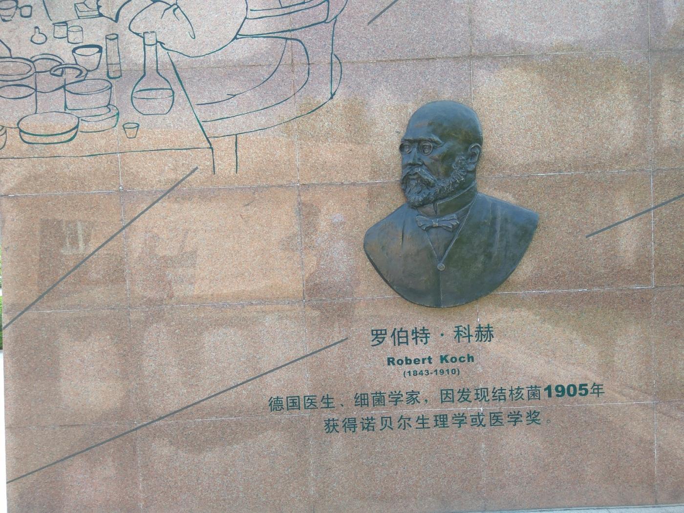 群雕:中外医学大师(图)_图1-25