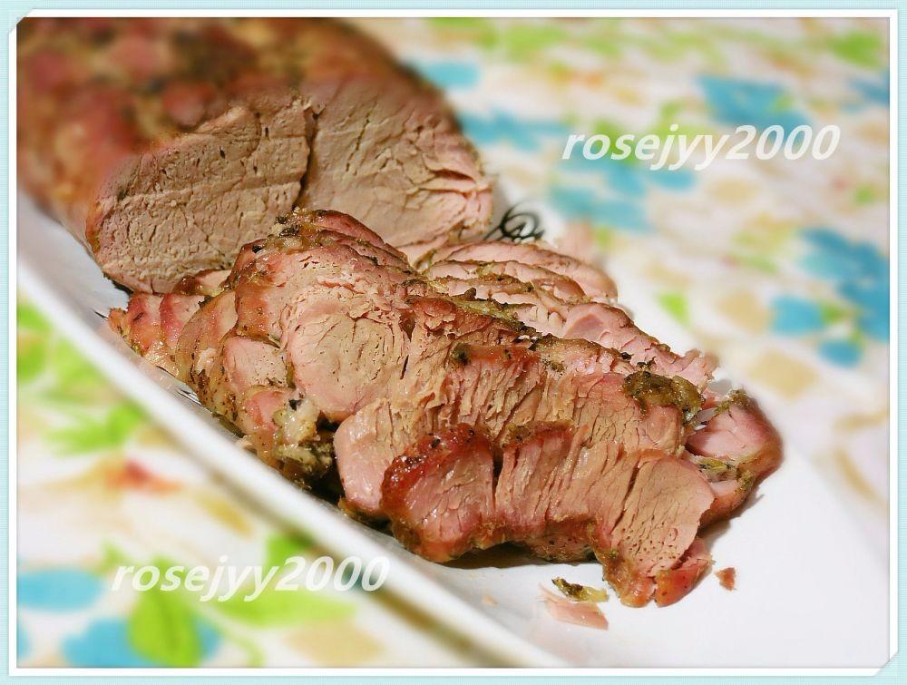 香草烤猪腰肉Tenderloin_图1-1