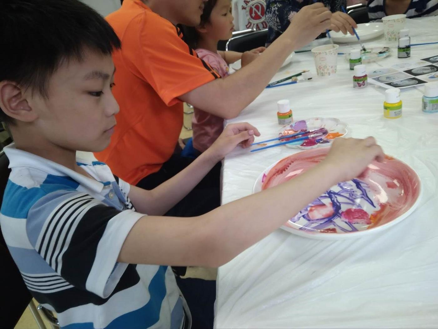 瓷盘彩色绘画_图1-3