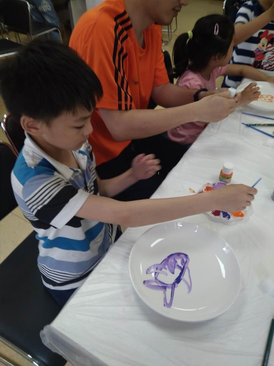 瓷盘彩色绘画_图1-20
