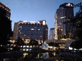 上海太平湖:三弹映月