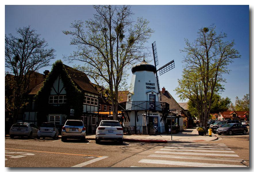 《酒一船摄影》:南加州的丹麦风小镇:Solvang_图1-1