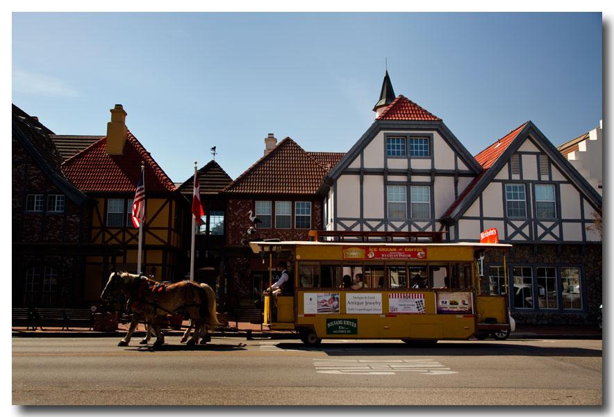 《酒一船摄影》:南加州的丹麦风小镇:Solvang_图1-2