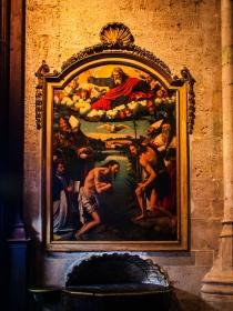 西班牙巴伦西亚主教堂,一幅没画完的画