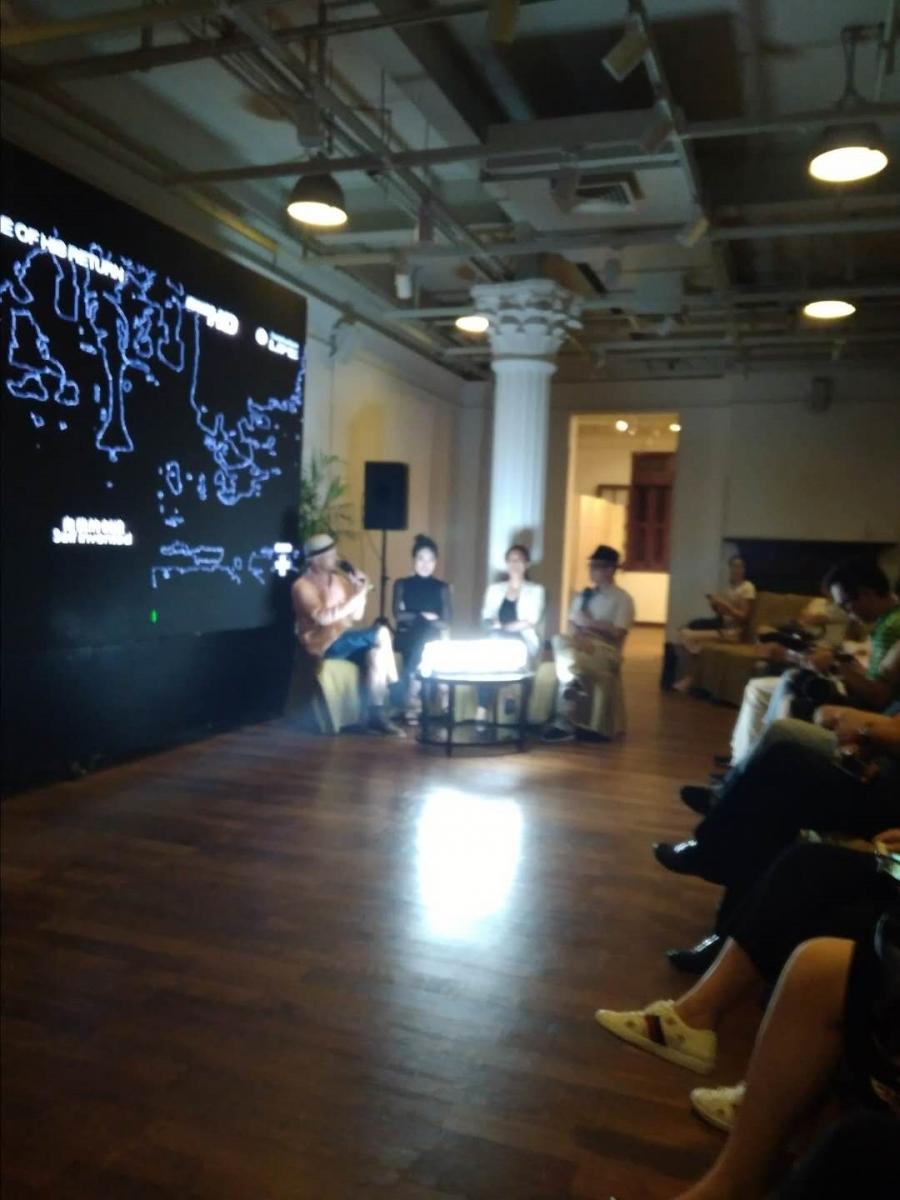 艺术家认为,意识是第一性的(上海思南会客厅)_图1-1