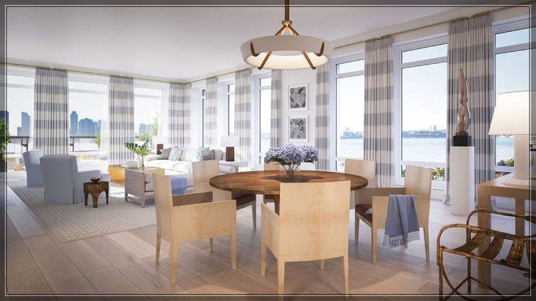 今年第25周著名建筑大师Robert A.M Stern的全新公寓70 Vestry Street尚未完工过户忙!  ..._图1-12