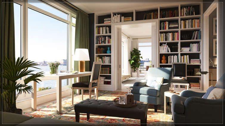 今年第25周著名建筑大师Robert A.M Stern的全新公寓70 Vestry Street尚未完工过户忙!  ..._图1-11