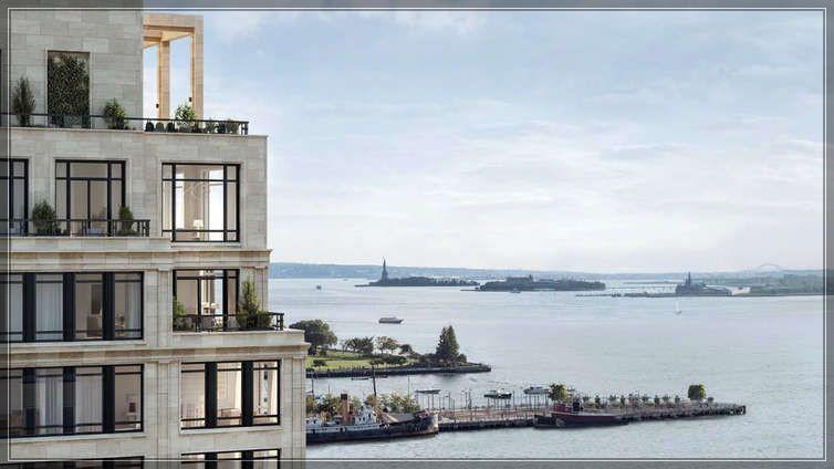 今年第25周著名建筑大师Robert A.M Stern的全新公寓70 Vestry Street尚未完工过户忙!  ..._图1-13
