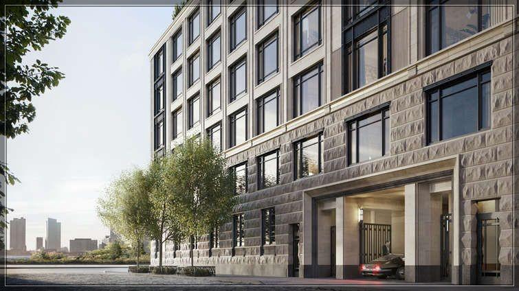 今年第25周著名建筑大师Robert A.M Stern的全新公寓70 Vestry Street尚未完工过户忙!  ..._图1-16
