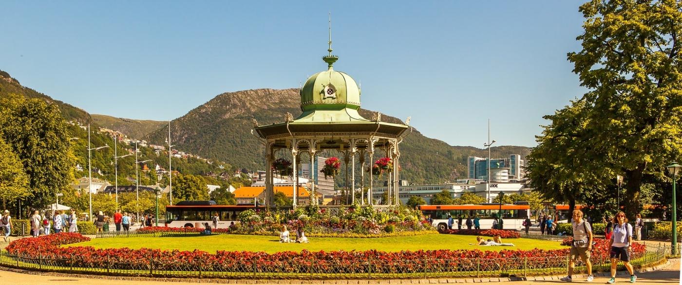 挪威卑尔根市(Bergen),名副其实的旅游名城_图1-3