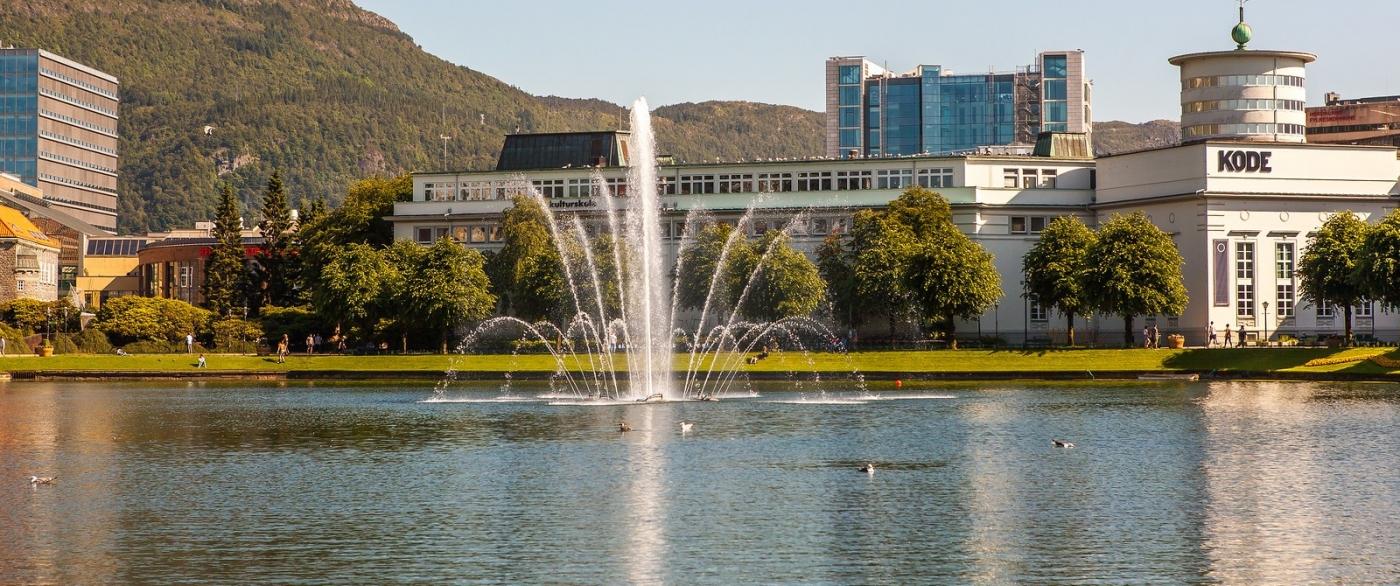 挪威卑尔根市(Bergen),名副其实的旅游名城_图1-2