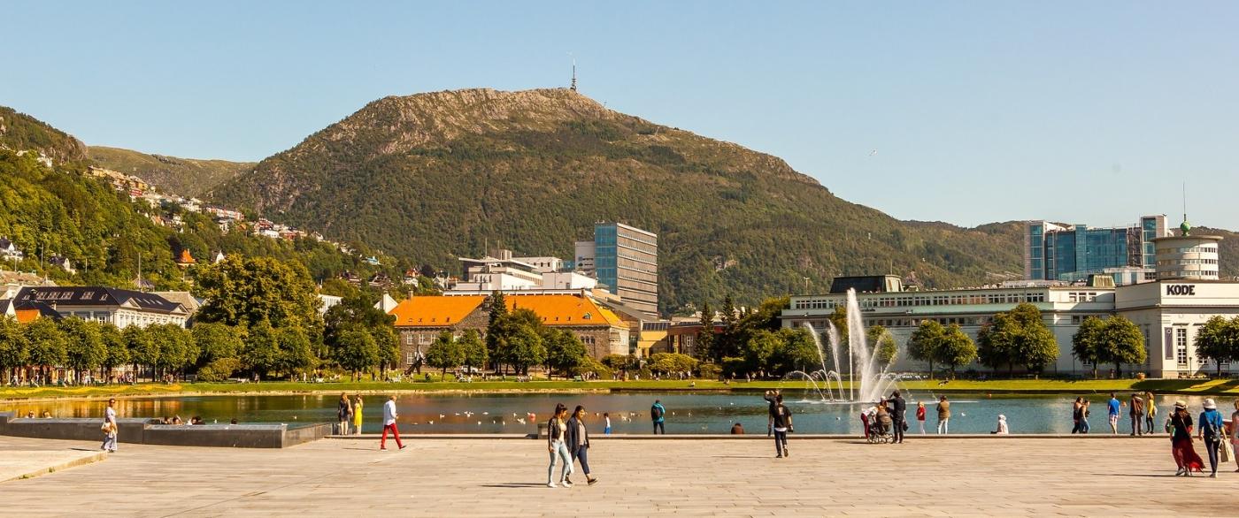 挪威卑尔根市(Bergen),名副其实的旅游名城_图1-1