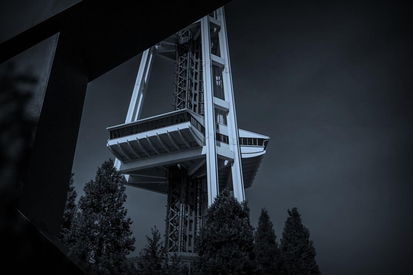 美国西雅图,太空针塔的英姿_图1-10