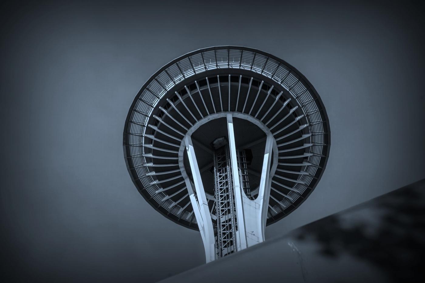 美国西雅图,太空针塔的英姿_图1-11