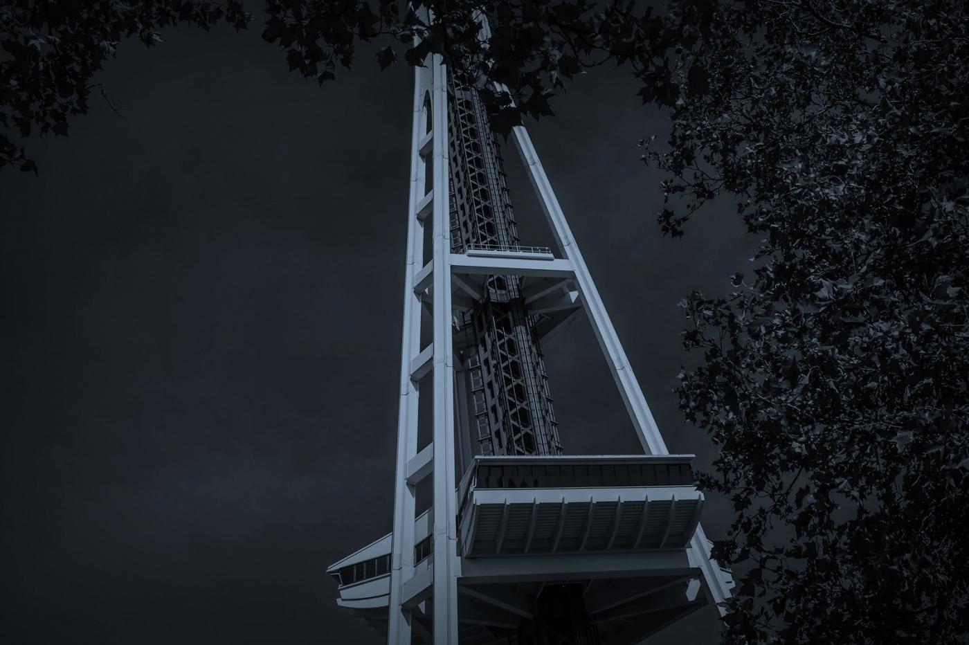 美国西雅图,太空针塔的英姿_图1-12
