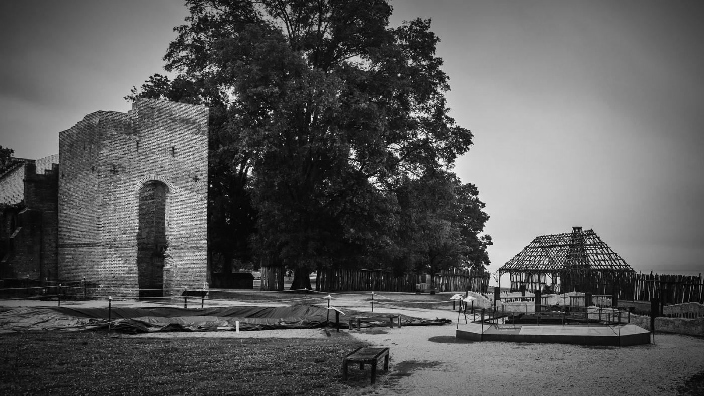 詹姆斯敦殖民地公园,历史需要真实_图1-4