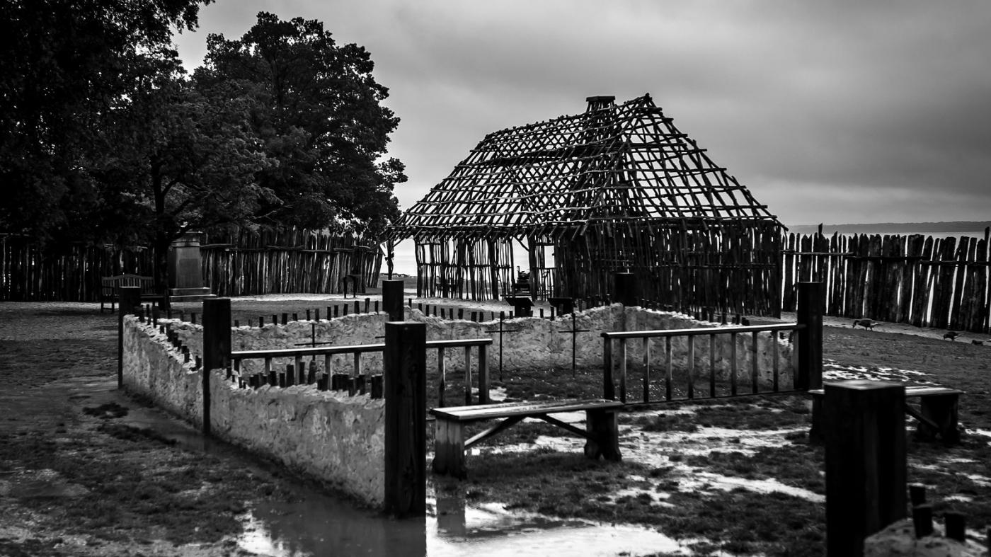 詹姆斯敦殖民地公园,历史需要真实_图1-7