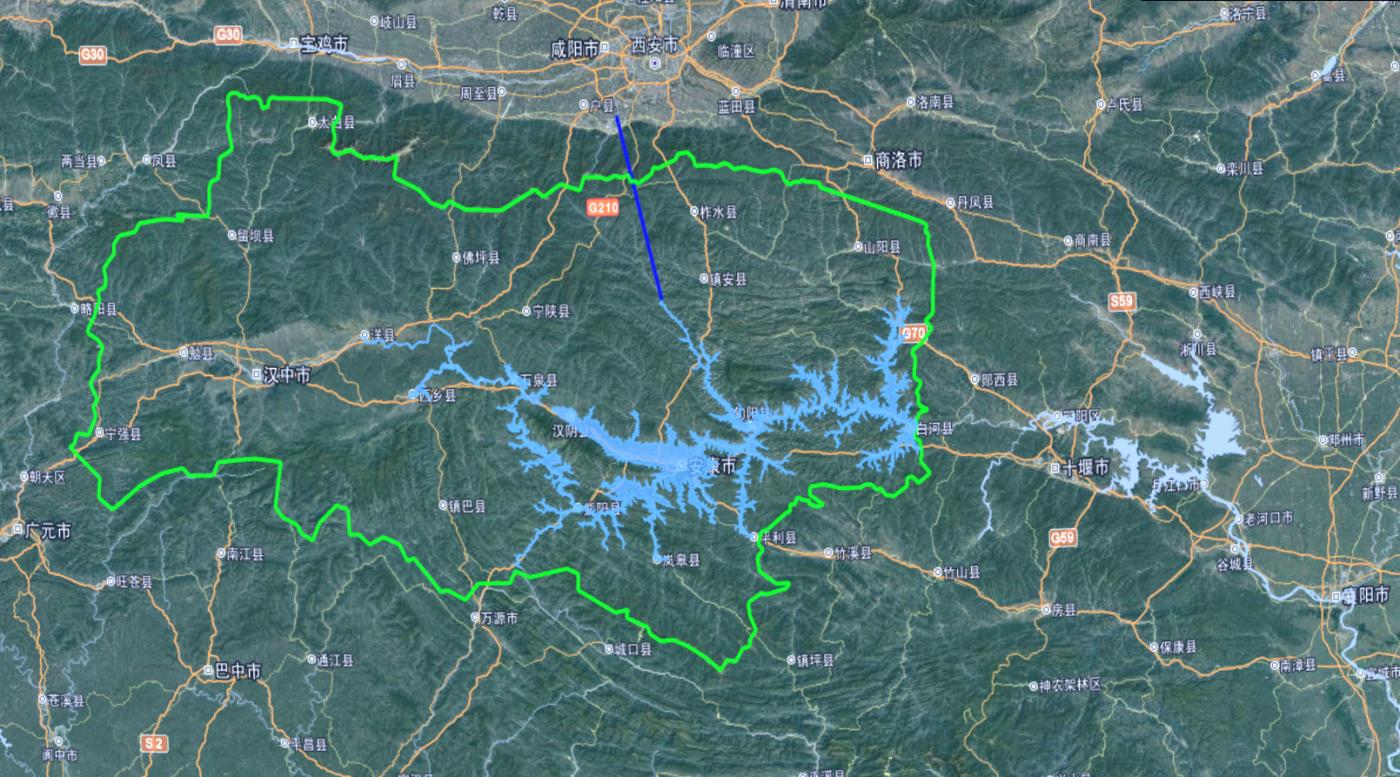 安康水库——中京的水源城市_图1-1