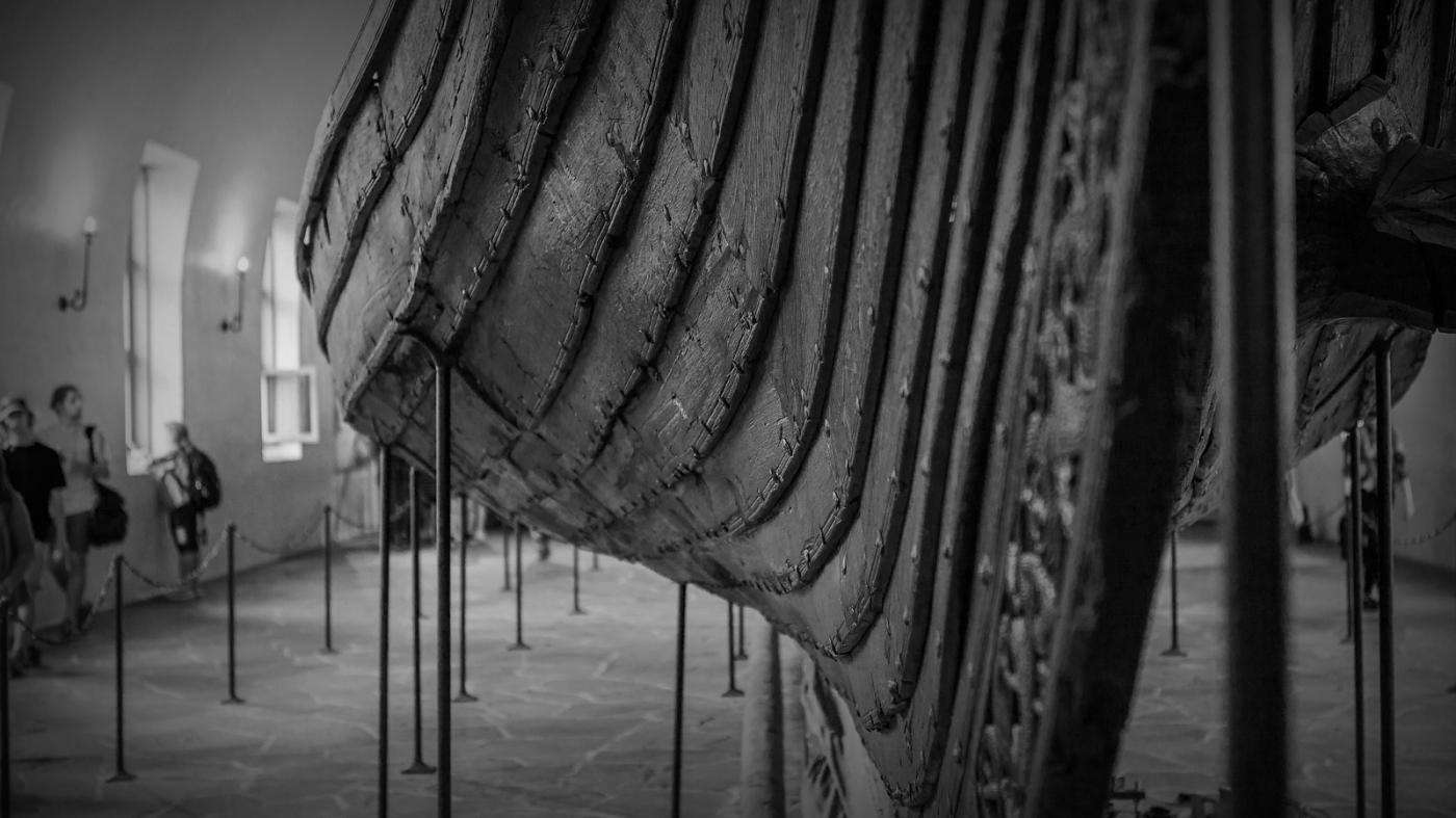 挪威奥斯陆海盗船博物馆,真正超大海盗船_图1-6