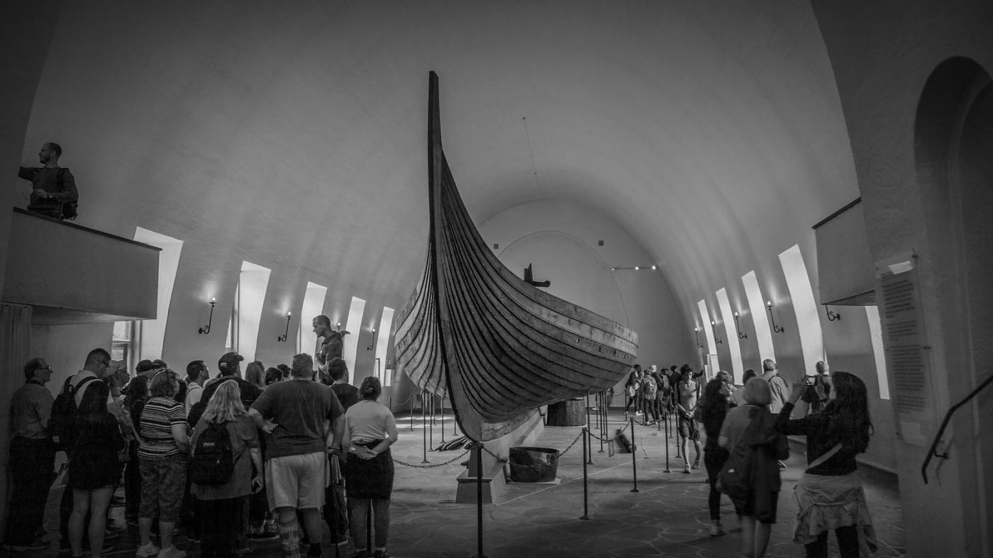 挪威奥斯陆海盗船博物馆,真正超大海盗船_图1-5