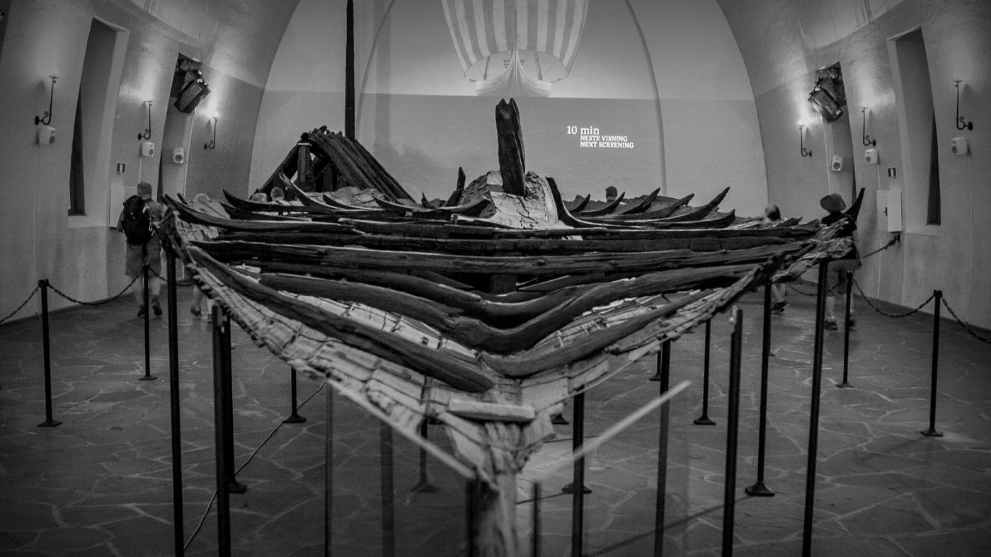 挪威奥斯陆海盗船博物馆,真正超大海盗船_图1-4