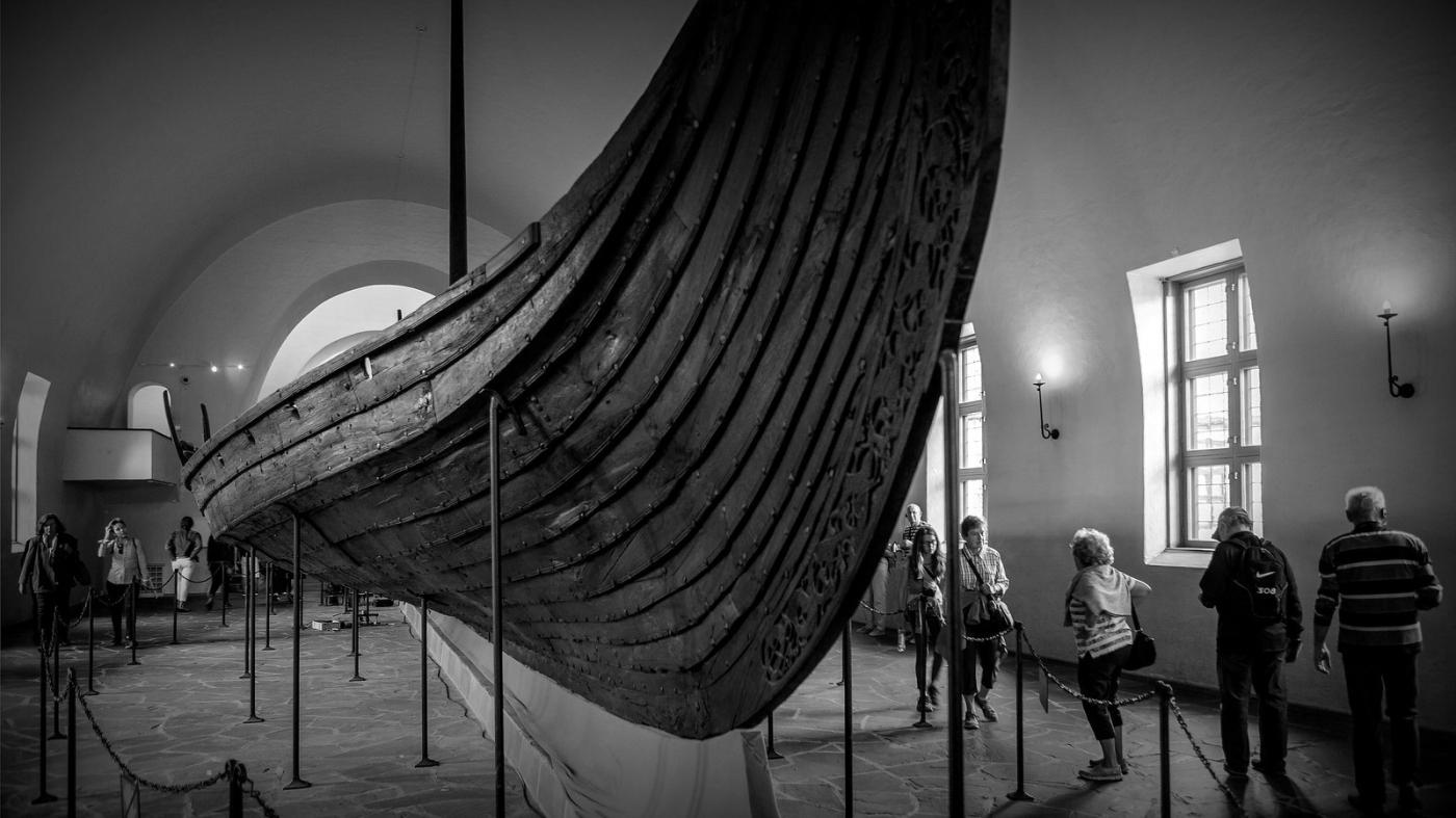 挪威奥斯陆海盗船博物馆,真正超大海盗船_图1-1