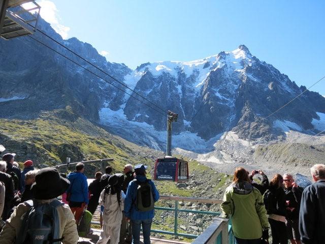 从南针峰.观看阿尔卑斯山全景_图1-7