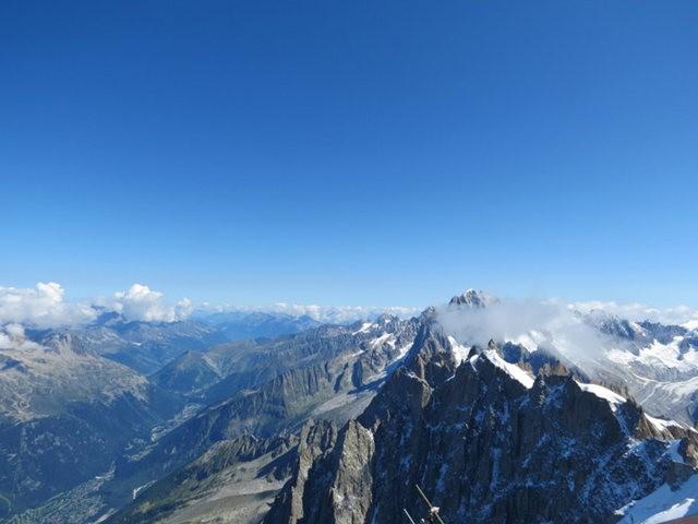 从南针峰.观看阿尔卑斯山全景_图1-11