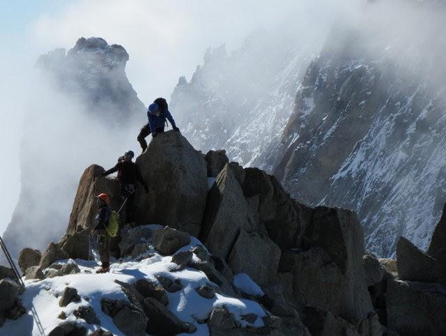 从南针峰.观看阿尔卑斯山全景_图1-17