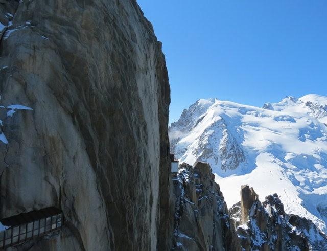 从南针峰.观看阿尔卑斯山全景_图1-26