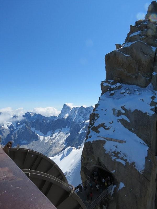从南针峰.观看阿尔卑斯山全景_图1-27